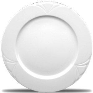 Тарелка белая