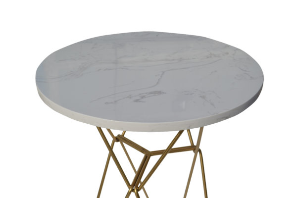Стол декор камень
